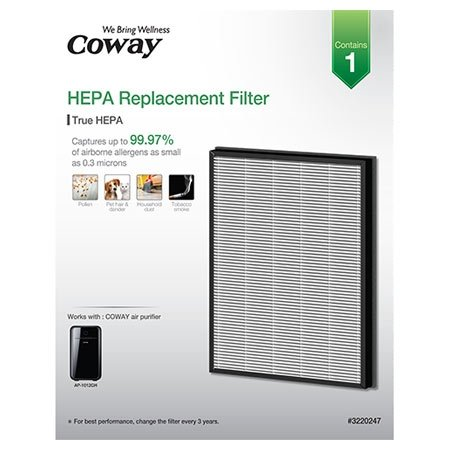 Coway Replacement Hepa Filter For Model Ap 1012gh