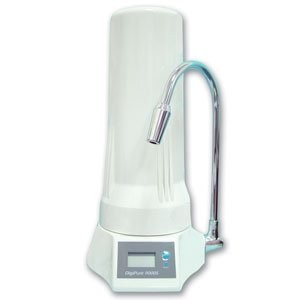Countertop Water Filter with Digital Meter