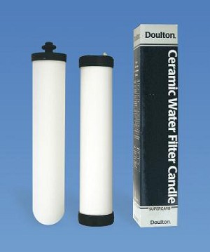 Doulton UltraCarb Ceramic Water Filter Cartridge (Candle or OBE)