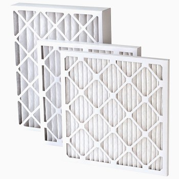 MERV 10 AC and Furnace Filters - 2 in. thick (Price for 3 Pack)