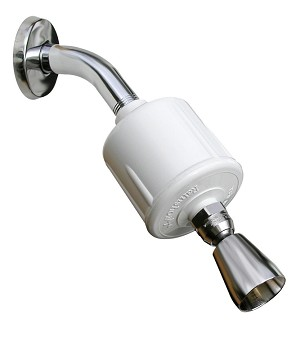 Rainshow'r Shower Filter With Fixed-Action Shower Head