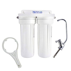 Under Sink Water Filter Two Stage System