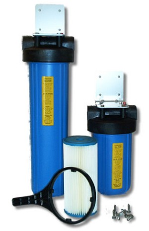 Whole House Water Filter System - Two Stage