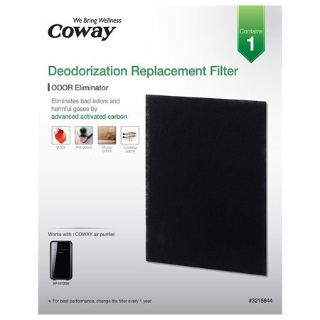 contains 1 carbon odor filter for the coway ap1012gh air purifier