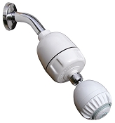 Rainshow'r Shower Filter with Massage Shower Head for a Healthy, Chlorine Free Shower.