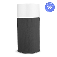 Blueair Blue Pure 411 Air Purifier, very compact, easily portable, for rooms up to 161 sq.ft. Blueair has decided to no longer support the smaller dealers that helped build their business, opting instead to only sell through very large online dealers and