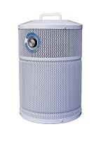 AllerAir AirMed 3 Compact Air Purifier - Portable, compact Air Purifier with 12 lbs. of Activated Carbon and SuperHEPA filters 99.99% to 0.1 microns.
