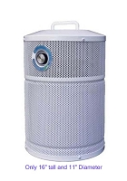 AllerAir AirMed 1 Compact Air Purifier - Portable, Medical Grade HEPA filtration with 5.5 lbs. of Activated Carbon for odor control.