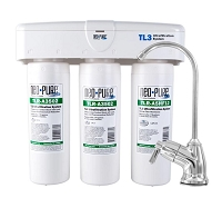 Neo-Pure 3-Stage Twist Lock ULTRAfiltration Under Sink Quick-Change Water Filter