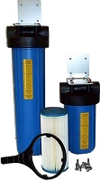 Whole House Water Filtration System - Two Stage Chlorine Guzzler for Municipal Water
