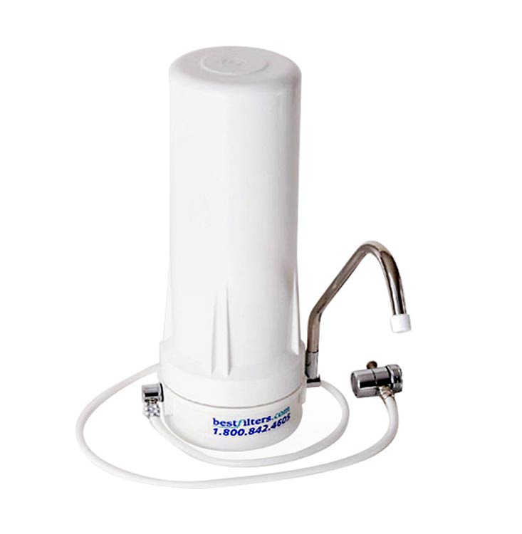 Countertop Water Filter by Bestfilters - Cartridge choices for Chlorine,  Chloramine, Lead, Fluoride, Arsenic, Pathogens and more