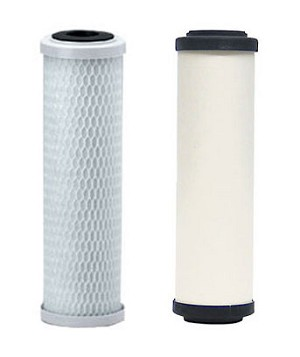 5 Micron Carbon Block & CeraMetix Water Filter Set