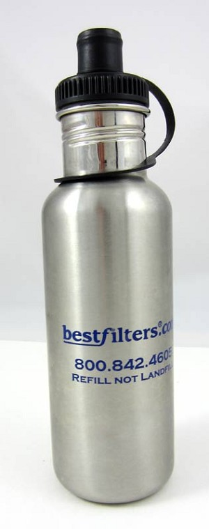 Stainless Steel Water Bottle - 16 oz.