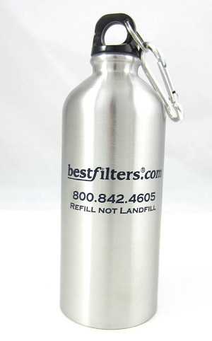 Stainless Steel Water Bottle - 20 oz.