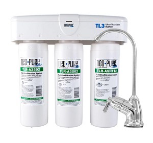 Neo-Pure TL3 ULTRAfiltration Under Sink Quick-Change Water Filter