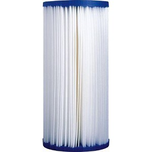 "Pleated Big Blue Sediment Filter, 4.5"" x 10"""