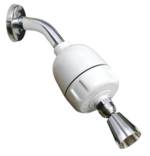 Rainshow'r Shower Filter with Chrome Shower Head
