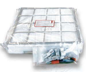 IQAir Course Dust Filtration Kit with fasteners, grill and parts.