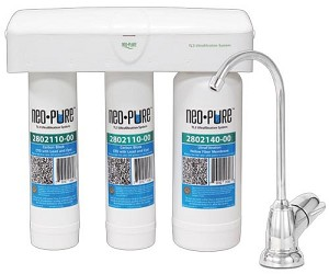 Neo-Pure ULTRAfiltration Under Sink Quick-Change Water Filter