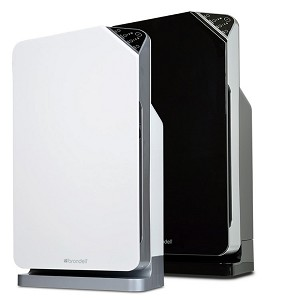 Brondell O2+ Balance HEPA Air Purifier - with Remote Control, HEPA Filter and Gas and Odor Filter, 250 sq. ft. room size.