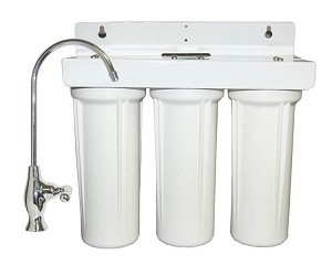 BestFilters Under Sink Superior Triple Stage Water Filter System with Fluoride Reduction